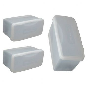Three Diving Mask Plastic Storage Boxes